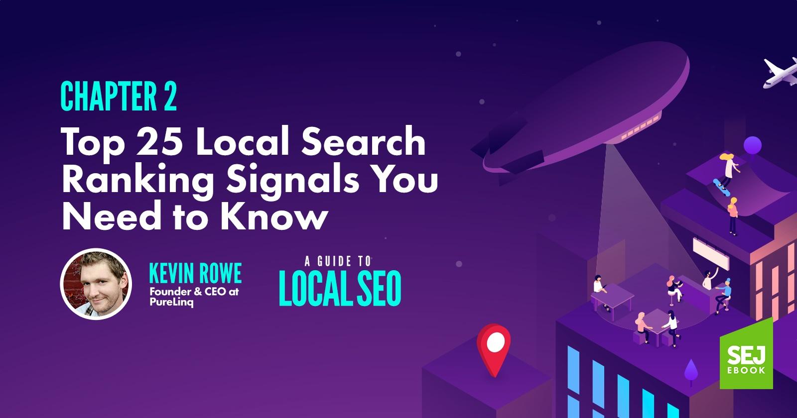 Top 25 des signaux de classement de la recherche locale que vous devez savoir