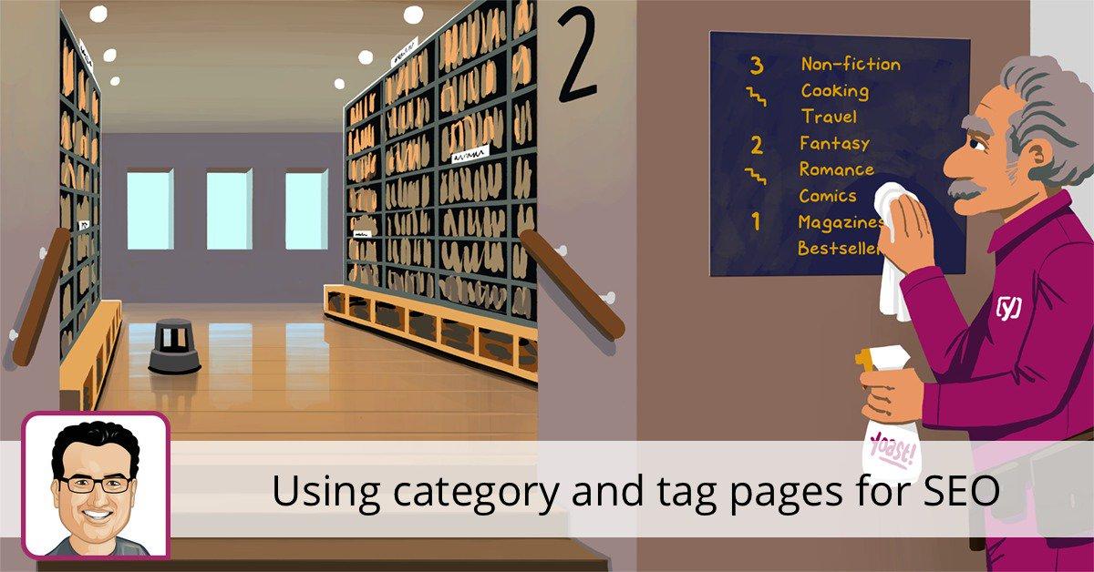 Utilisation de pages de catégorie et de balises pour le référencement • Yoast