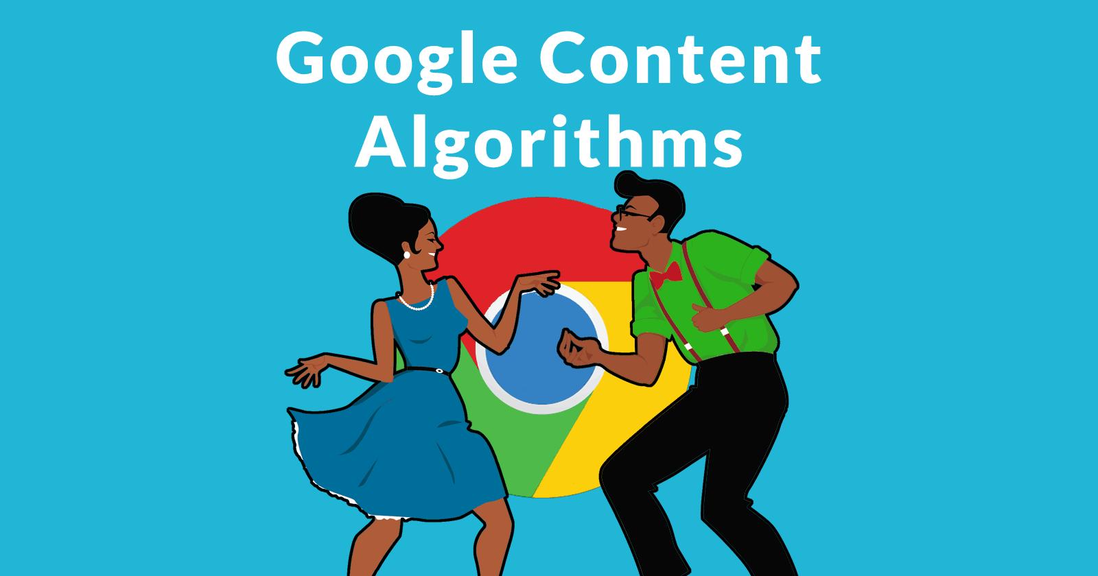 Algorithmes de contenu Google et effets de classement