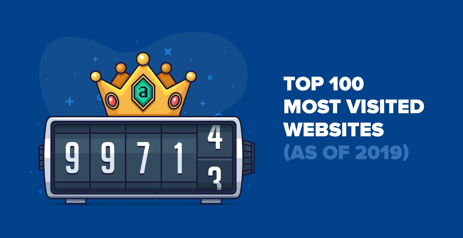 Top 100 des sites Web les plus visités par le trafic de recherche (à partir de 2019)