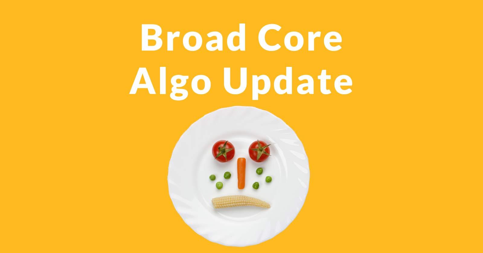 Mise à jour du Broad Core Algo de juin 2019: plus qu'un simple E-A-T