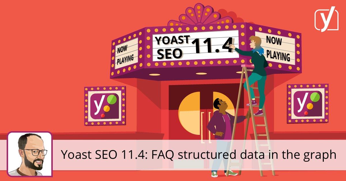 FAQ données structurées dans le graphique • Yoast