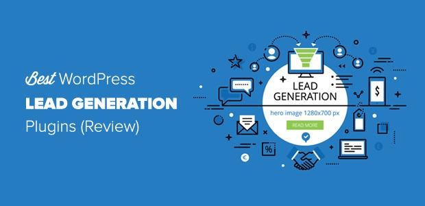 7 meilleurs plugins de génération de leads pour WordPress (2019)