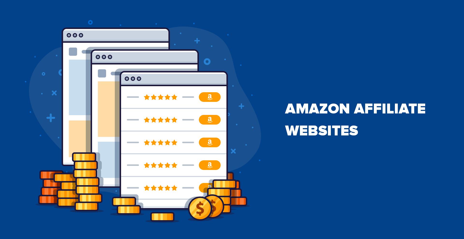 7 sites Web affiliés Amazon réussis