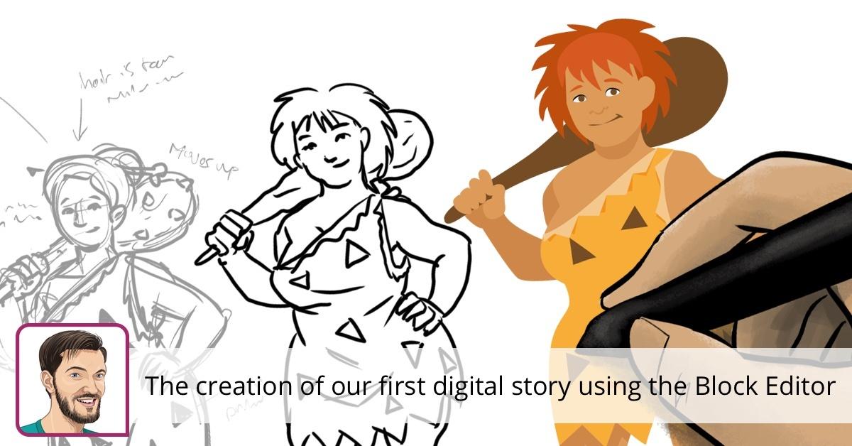 La création de notre première histoire numérique en utilisant l'éditeur de blocs • Yoast