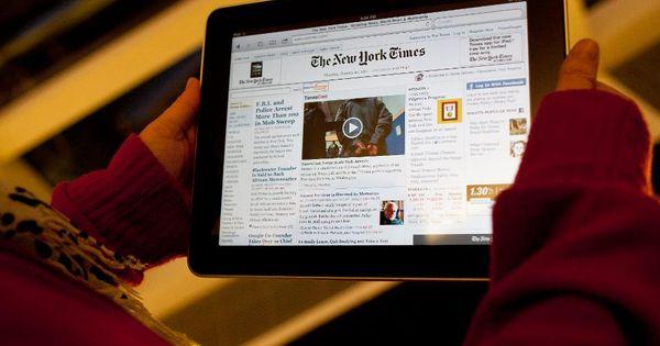 Les consommateurs américains adorent les actualités en ligne mais ne les paieront pas