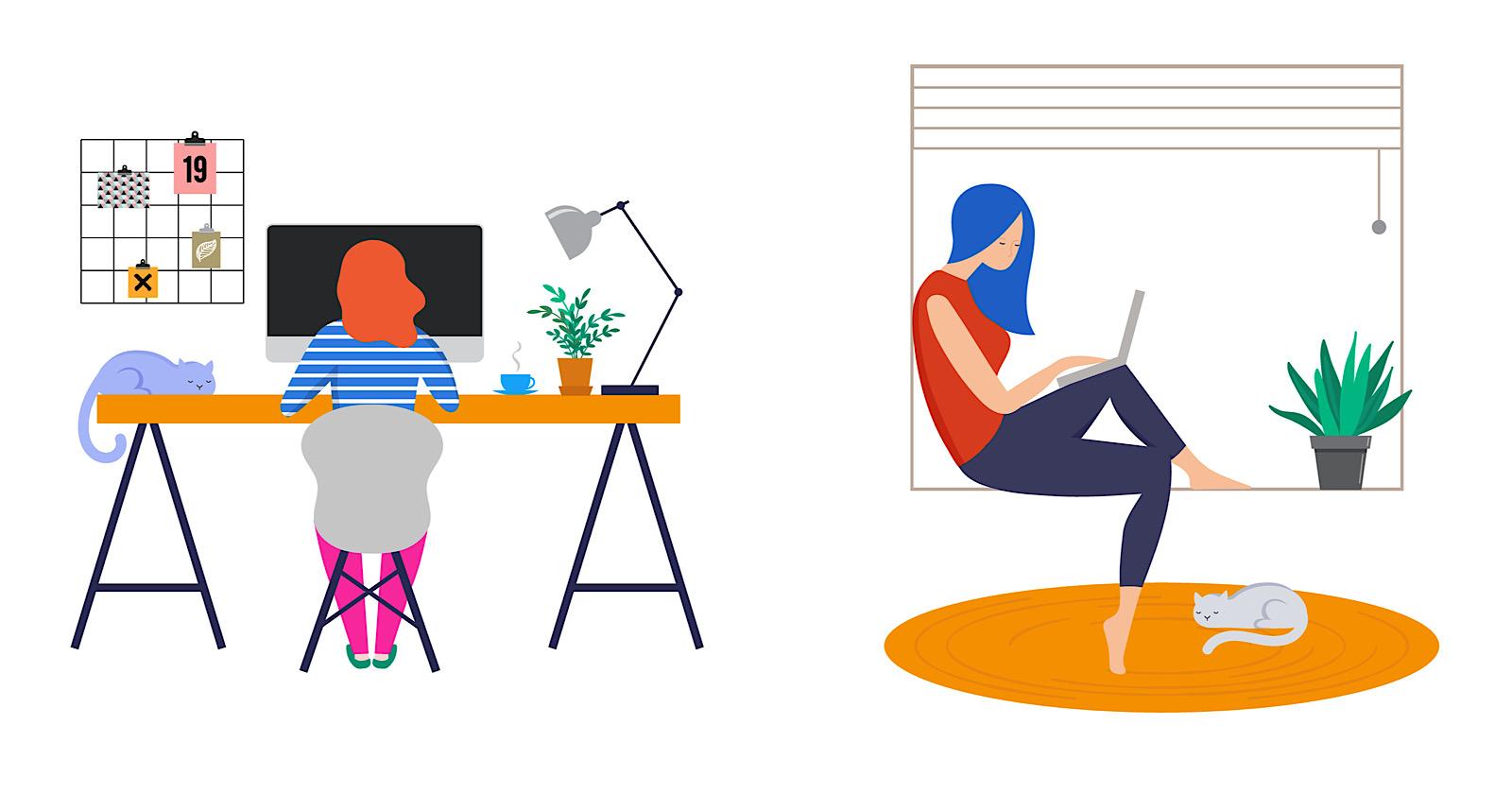Engagement LinkedIn en hausse de 76% pour le contenu «Travail à domicile»