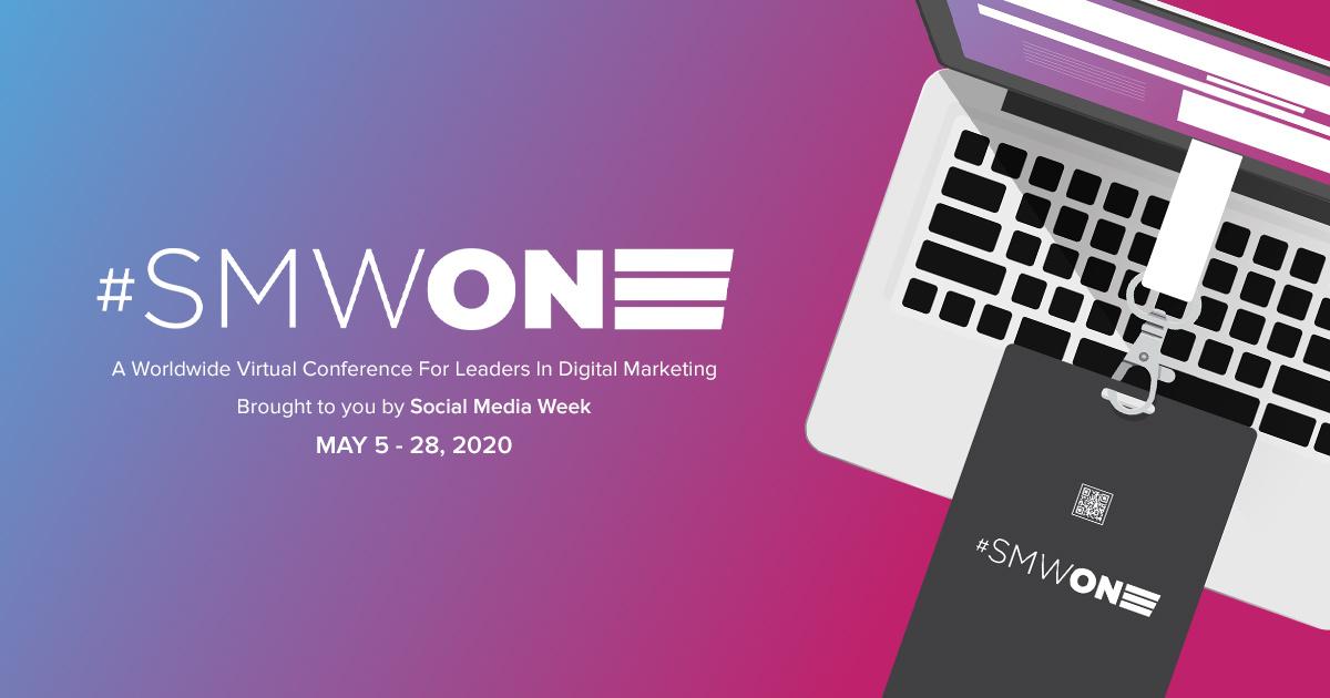 #SMWONE lance le programme initial et la liste des conférenciers pour sa conférence virtuelle en mai