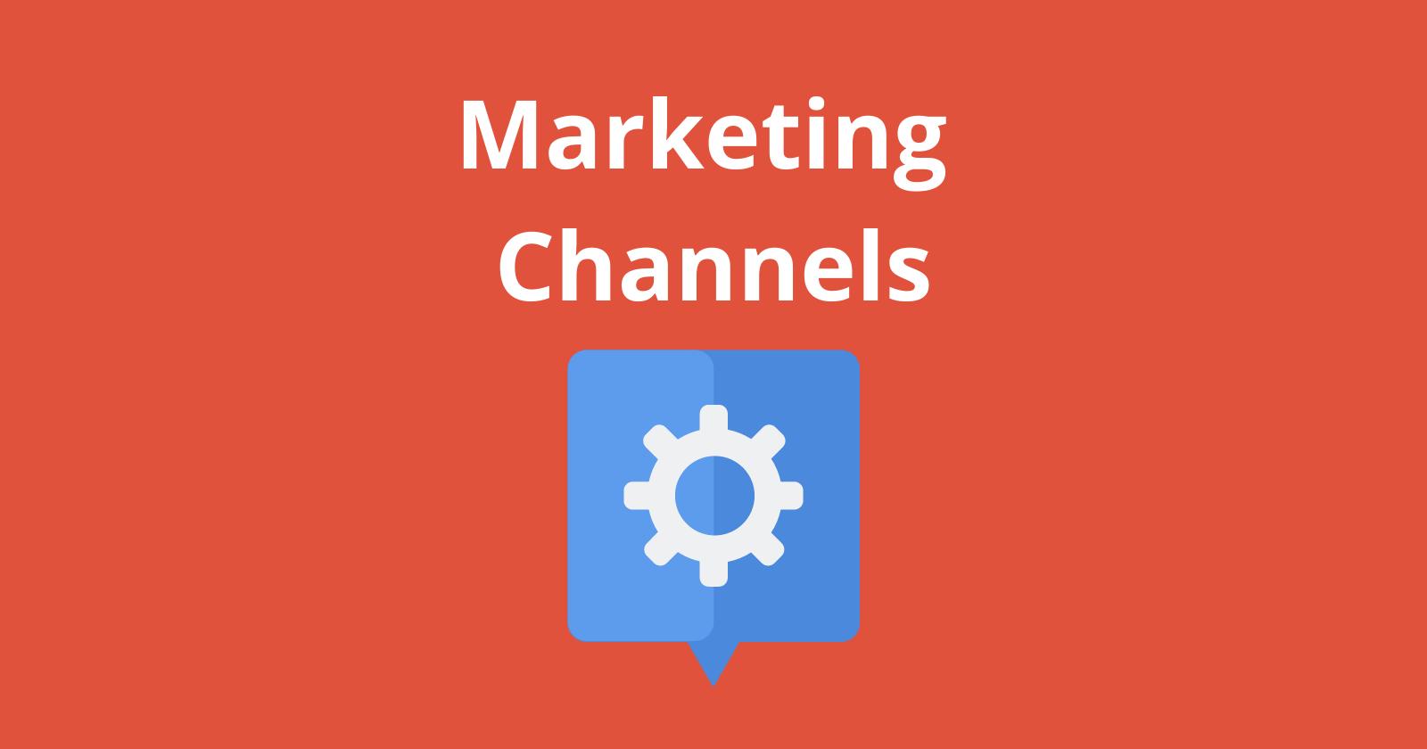 Le bon canal de marketing vous permet de pivoter rapidement: choisissez judicieusement