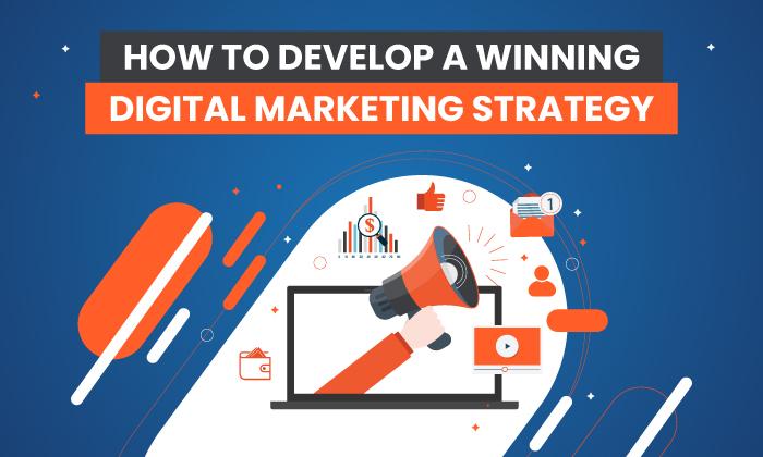 Comment développer une stratégie de marketing numérique gagnante en 4 étapes faciles
