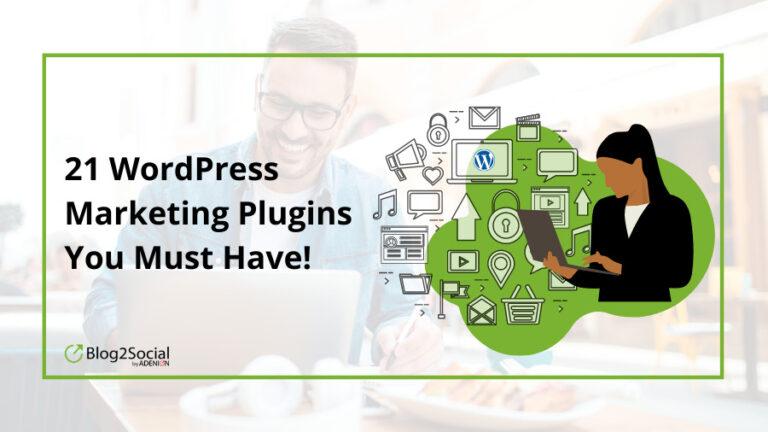 21 meilleurs plugins de marketing WordPress que vous devez avoir