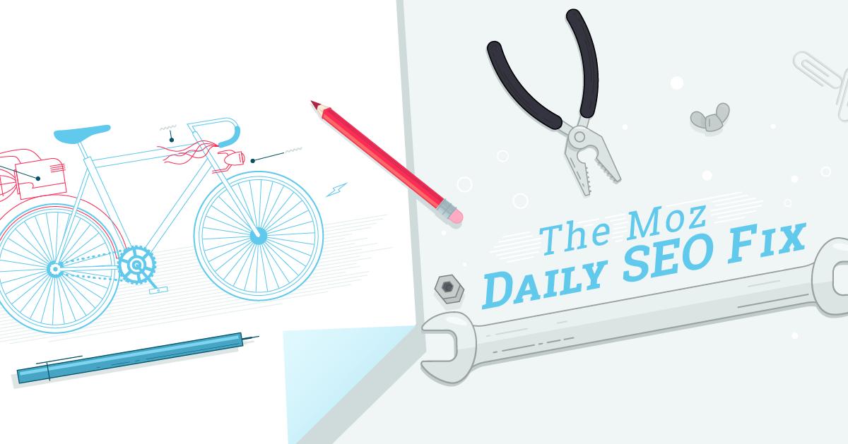 Correction SEO quotidienne : Audit des problèmes techniques de référencement avec Moz Pro
