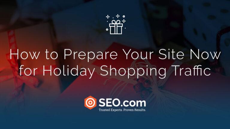 Comment préparer votre site dès maintenant pour le trafic de magasinage des Fêtes